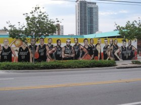 Graffiti art adorns Wynwood walls