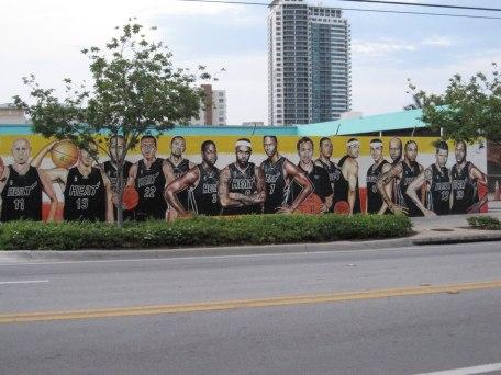 Graffiti art adorns Wynwood walls