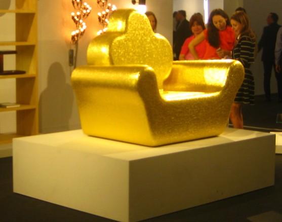 Golden Throne of Design Miami